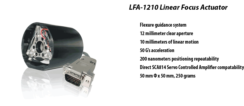 LFA-1210 Linear Focus Actuator