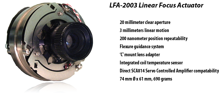 LFA-2003 Linear Focus Actuator