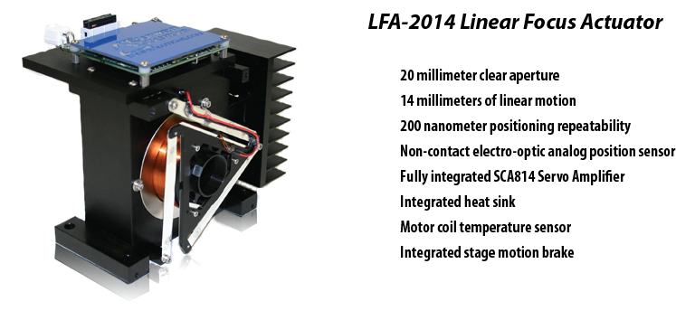 LFA-2014 Linear Focus Actuator